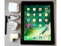IPAD 4, LARGE 32GB, WiFi, works perfectly, good condition