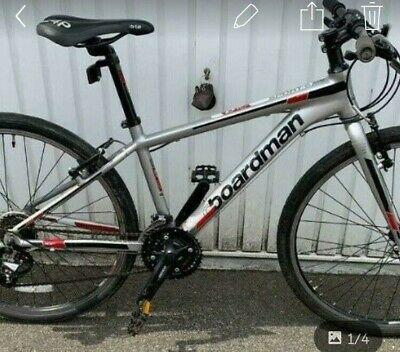 """c boardman juniors frame mountain bike hybrid 26"""" wheels 2xb is the size"""