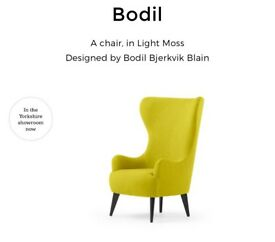 Made Bodil Chair in Light Moss