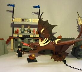 HARRY POTTER LEGO - Set 4767-1 - Harry and the Hungarian Horntail - Complete, Box & Instructions!