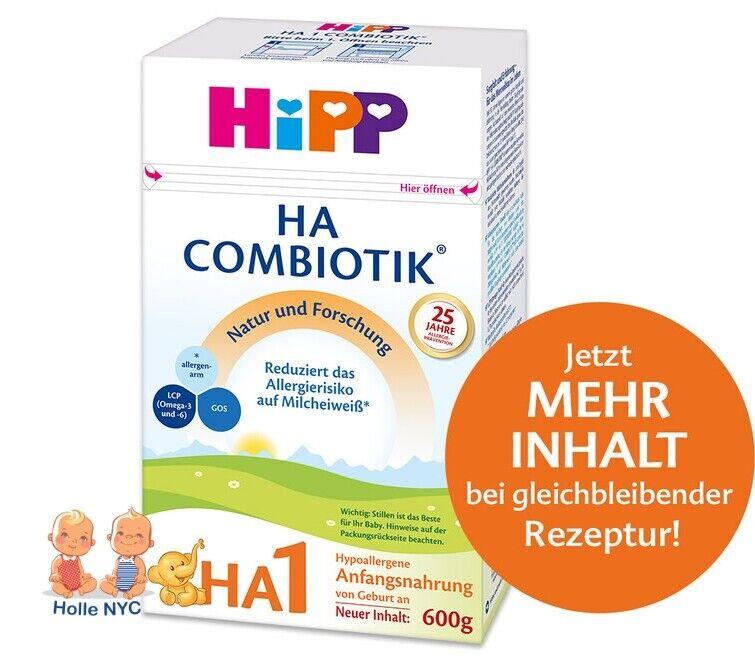 HiPP HA 1 Combiotic Bio Infant Formula 600g Free Shipping