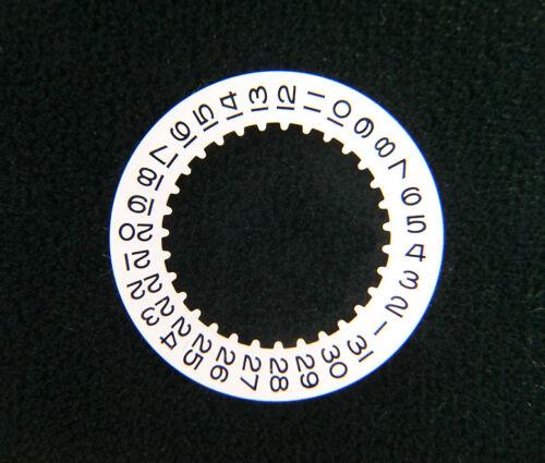 Genuine Rolex 3135 3175 3185 16200 White Date Indicator Wheel Disc Watch Caliber