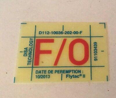 NOS Airbus F/O Decal Placard p/n D1121003620200 qty 2 (F/1)