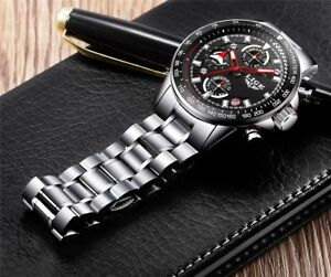 BNIB Stainless Steel CHRONOGRAPH 3ATM New Watch