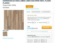 Karndean Limed Linen Oak Vinyl Floor Tiles