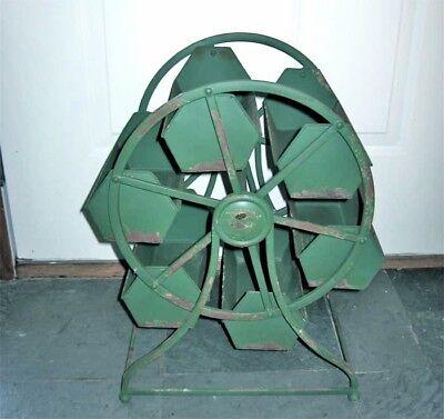 Vintage Industrial Revolving Tray