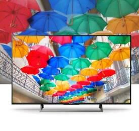 "SONY - BRAVIA KD43XE8396 43"" Smart 4K Ultra HD HDR LED TV"