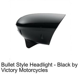 Wanted: Victory black headlight housing