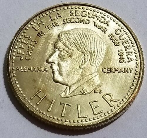 Old German vintage coin WWI WW2 WWII MIlitary Gold 1945 commemorative