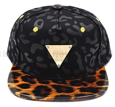 Hater x Bignook Collaboration Leopard Snapback Fashion Adjustable Hat Cap