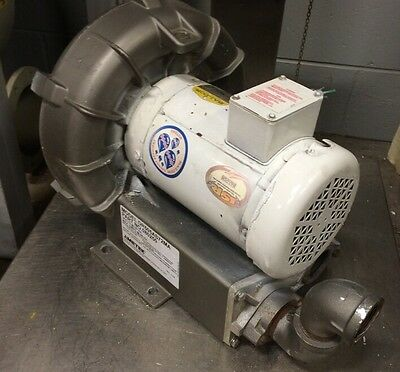 Ametek Dr505as72ma Regenerative Blower 2hp 3ph 230460v