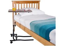 Adjustable Overbed Table With Tilt Facility
