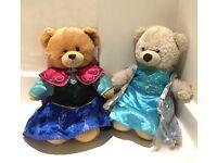 Build a Bear Anna and Elsa