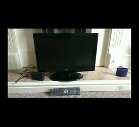 """Logik 19"""" tv with built in freeview"""