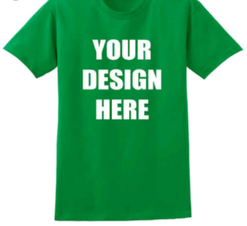 T_shirt printing and vinyl stickers for windows and vehicles.