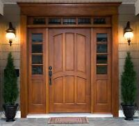 Doors Installation, Carpenter, Handyman Available