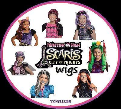 Monster High Kind Kostüme (Monster High Scaris Perücke Neu Halloween Kostüm Bekleidung Haar Spiel Kopf Kind)