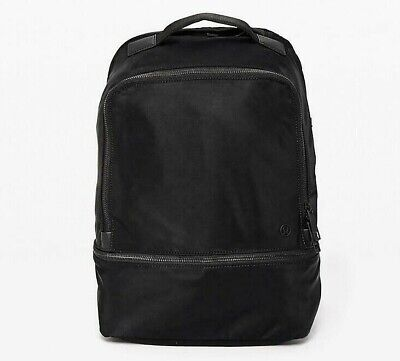 LULULEMON City Adventurer Backpack Bag 17L w. Laptop & Shoe Compartments, Black