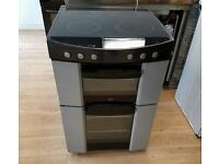 Zanussi Double oven electric cooker 60cm width.3 months warranty