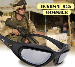 Tactical Glasses Sporting Military Sunglasses 4 Lens Kit