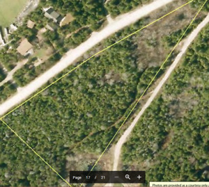 2.37 Acre Corner Vacant Lot for Sale by Owner Tobermory