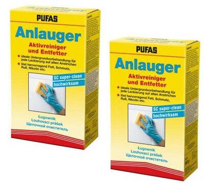 2x Pufas Anlauger SC super clean 500g Pulver Doppelpack Entfetter Aktivreiniger