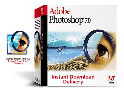 Adobe Photoshop 7.0 PC Full Version with Key Code (Instant Download Delivery)