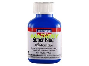 Super Blue 3 OZ 13425 Liquid Gun Barrel Bluing ~ Birchwood Casey ~ Tool Blueing