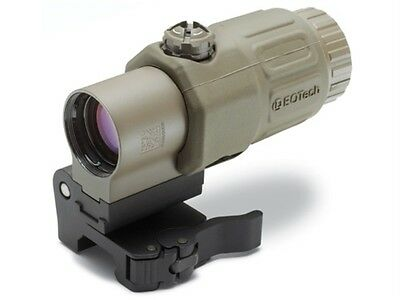 EOTech G33 3x Magnifier for Red Dot Sights w/ STS Mount - Tan, used for sale  Birmingham