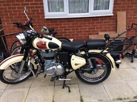 Royal Enfield Classic 499cc with less than 3000 miles on the clock
