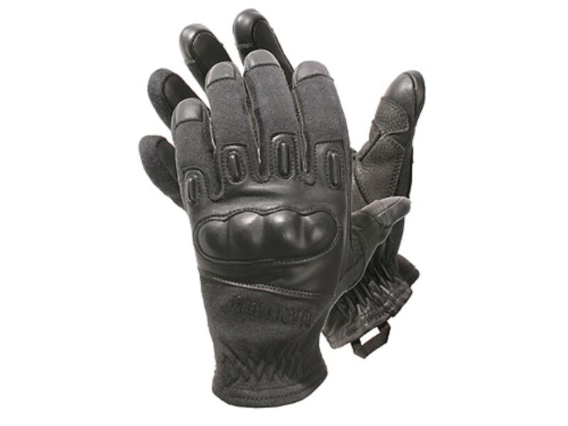 Blackhawk Fury made with Kevlar Tactical Gloves 8157SMBK  Small  hard  knuckle
