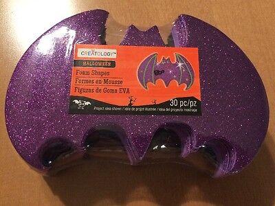 Creatology Halloween Bat Foam Shapes 30 Pc
