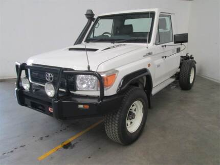2011 Toyota LandCruiser Ute Broughton Charters Towers Area Preview