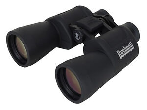 BUSHNELL Insta-Focus Powerview Porro Prisms 10 x 50 mm Black Binoculars 131056