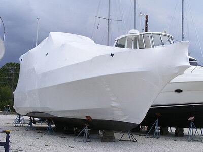 Construction 16/'x200'-7mDIY  White Marine Shrink Wrap Marine Boat