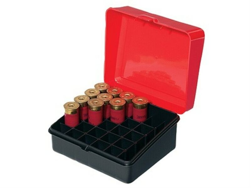 Plano 1216-01 Shotgun Shell 12 Gauge Red/Black Ammo Box