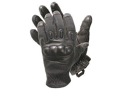 Blackhawk Fury Kevlar Tactical Gloves 8157LGBK  Large  Black Hard Knuckle