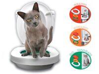 Litter Kwitter Cat / kitten Toilet Training System.