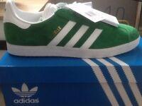 Mens Green Adidas Gazelle size 8.5uk&9.5uk £50