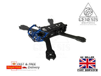 "Mustang 6"" 260mm 4mm Arms Carbon fibre FPV Racing Quadcopter Drone frame Kit"