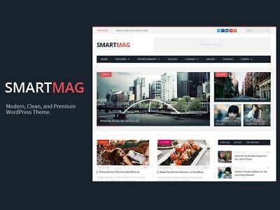 Smartmag - Responsive Retina Wordpress Magazine Theme