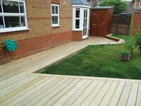 Professional Decking, Landscaping and Gardening
