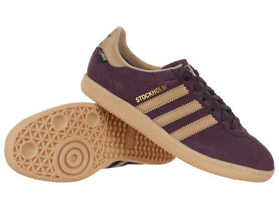 adidas Originals Stockholm Gore-Tex unisex Leather Shoes Upper Low-cut Trainers