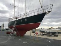 Ferrocement Ketch - Boat in Spain (Huelva)