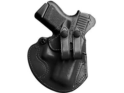 Desantis Cozy Partner Belt Holster Ruger American 9Mm Leather Black Right