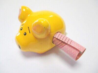 Billete Puro Imán Hucha Hucha Amarillo Money Regalo de Dinero