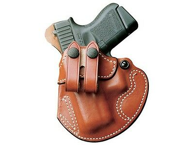 Desantis Cozy Partner Belt Holster Ruger American 45 Acp Leather Left Tan