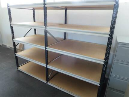 SHELVING UNIT FOR WAREHOUSE, FACTORY OR GARAGE