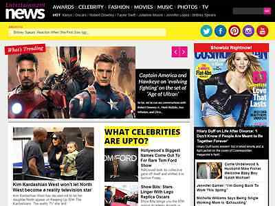 Autopilot Celebrity Entertainment News Website