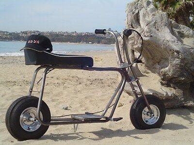 "BAD DOG Mini Bike Frame & 6"" POLISHED ALLOY ""Douglas wheels""  Wheel Kit  for sale  Dana Point"